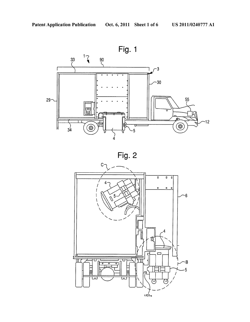 MOTOR VEHICLE FOR COLLECTING PAPER - diagram, schematic, and image 02