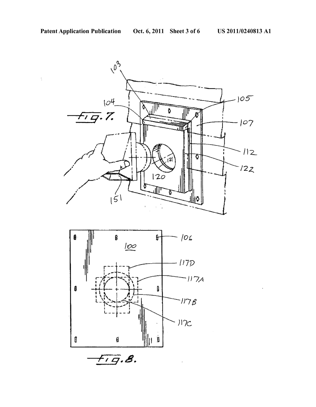 FIXTURE WALL MOUNT ASSEMBLY WITH INTEGRAL FLASHING - diagram, schematic, and image 04