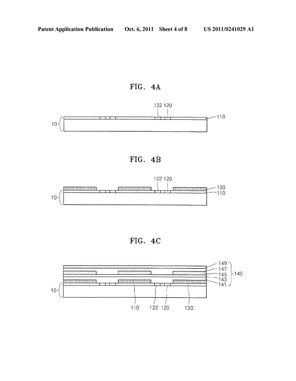 ORGANIC LIGHT EMITTING DEVICE AND METHOD OF MANUFACTURING THE SAME - diagram, schematic, and image 05