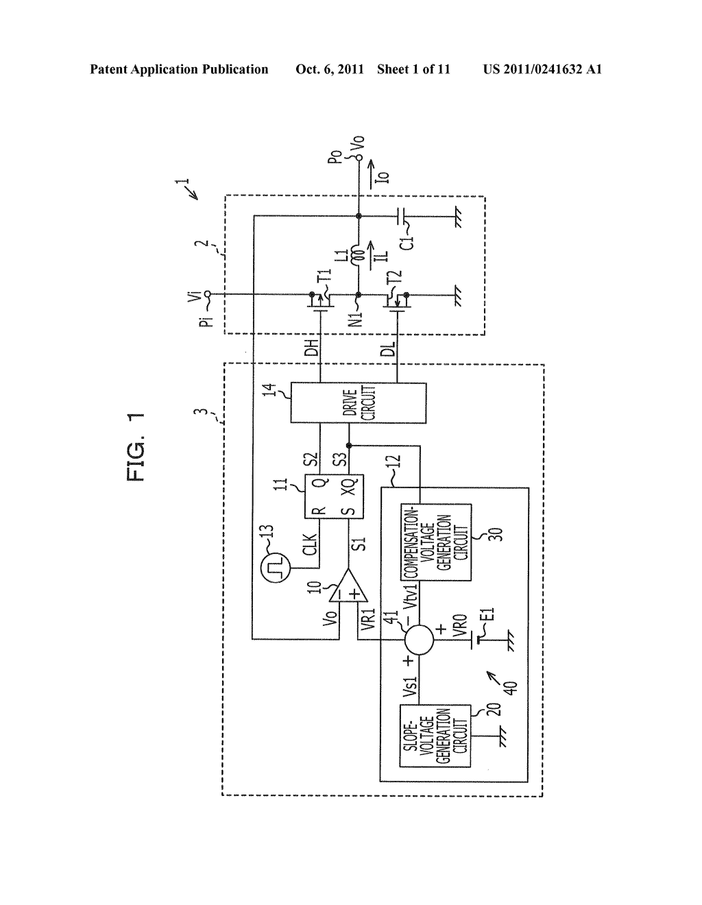 POWER SOURCE APPARATUS, CONTROL CIRCUIT, AND METHOD OF CONTROLLING POWER     SOURCE APPARATUS - diagram, schematic, and image 02