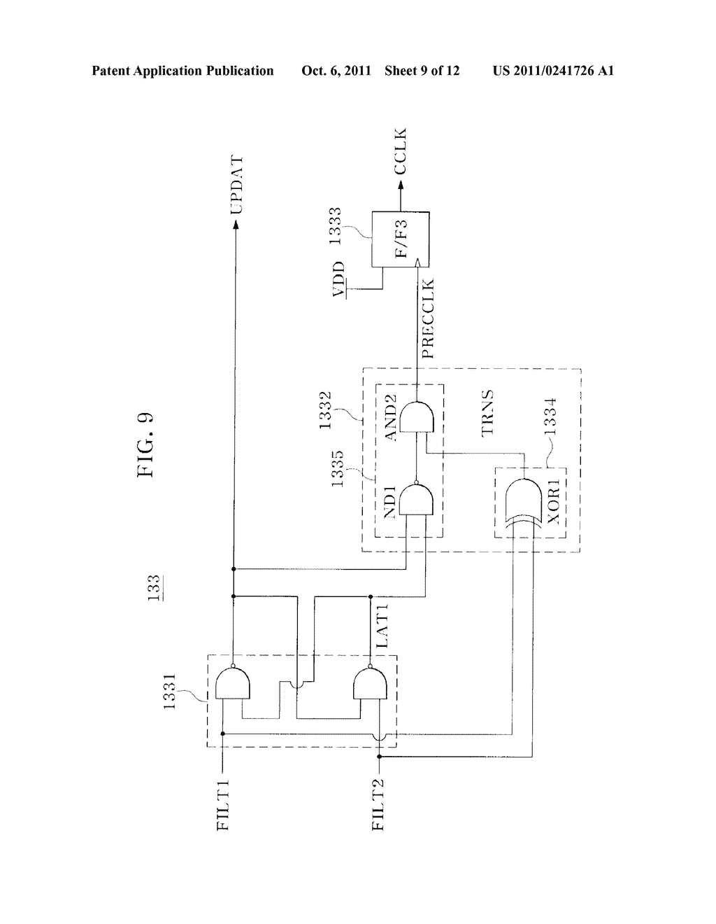 ON-DIE TERMINATION CIRCUIT - diagram, schematic, and image 10