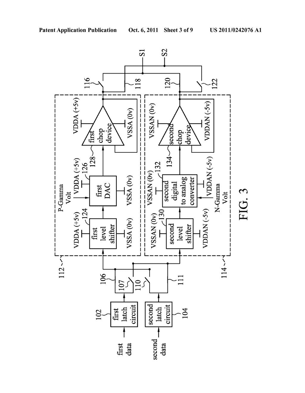DEVICE FOR DRIVING DATA AND METHOD THEREOF USED FOR LIQUID CRYSTAL DISPLAY - diagram, schematic, and image 04