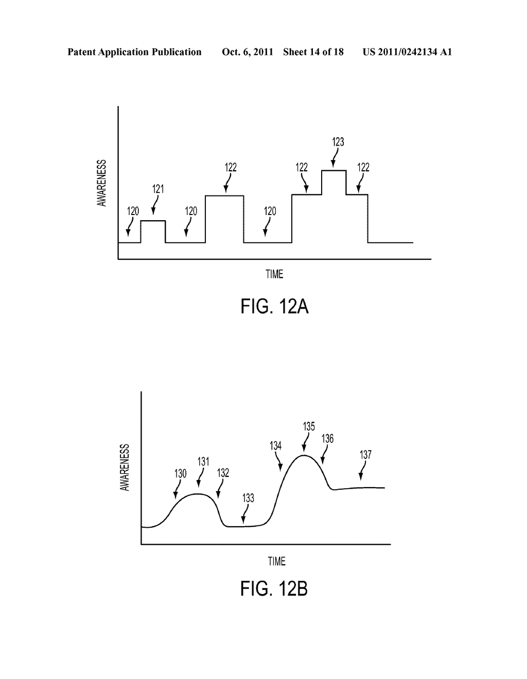 METHOD FOR AN AUGMENTED REALITY CHARACTER TO MAINTAIN AND EXHIBIT     AWARENESS OF AN OBSERVER - diagram, schematic, and image 15