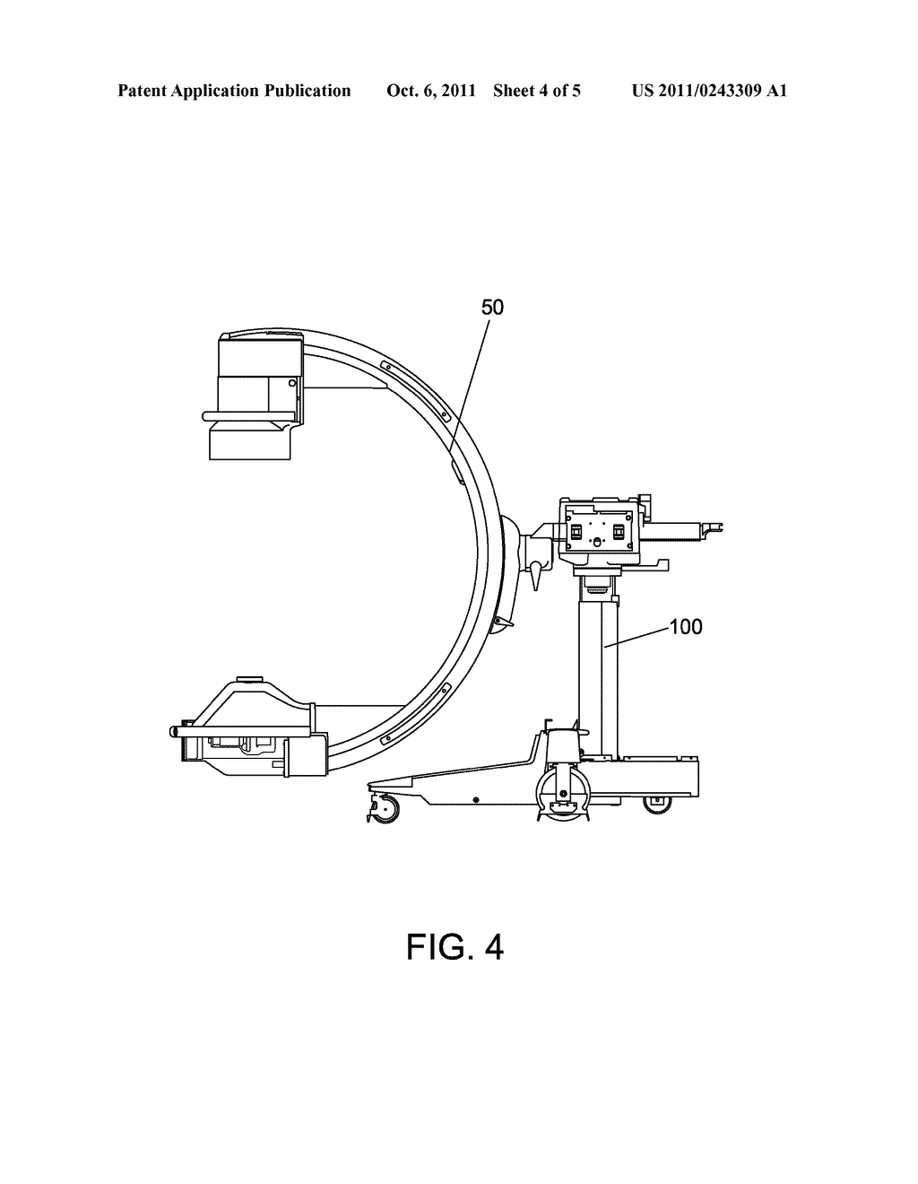Lift Apparatus For Supporting C Arm Or U And Medical X Ray Circuit Diagram Machine Having The Same Schematic Image 05