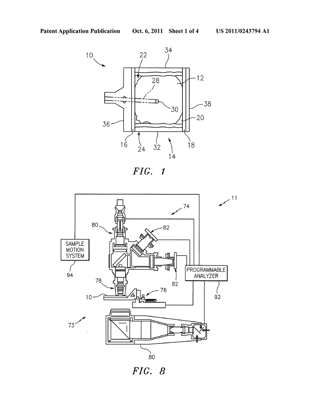 BIOLOGIC FLUID ANALYSIS CARTRIDGE WITH DEFLECTING TOP PANEL - diagram, schematic, and image 02