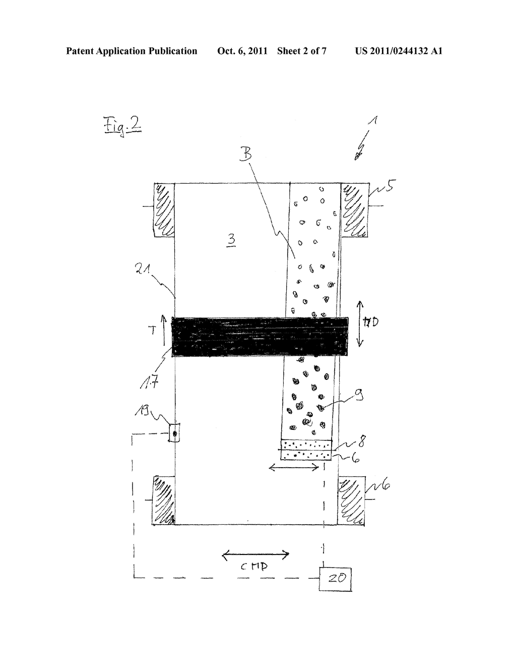 METHOD FOR PRODUCING A PATTERN ON AN ENDLESS STRIP - diagram, schematic, and image 03
