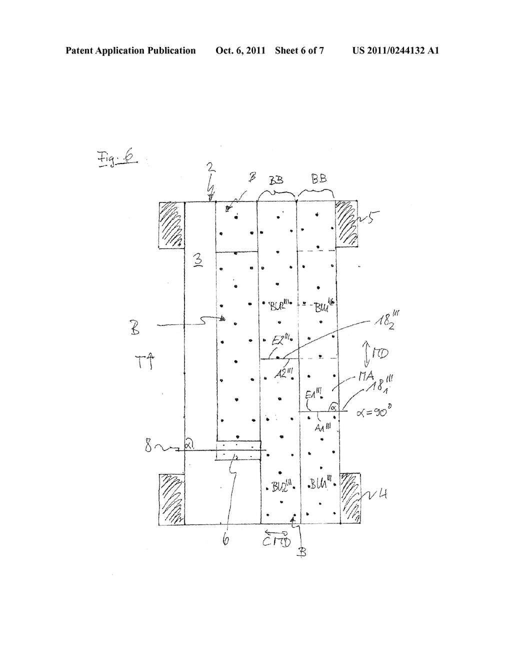 METHOD FOR PRODUCING A PATTERN ON AN ENDLESS STRIP - diagram, schematic, and image 07