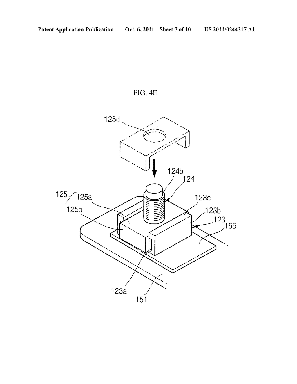 TERMINAL OF RECHARGEABLE BATTERY AND METHOD OF MANUFACTURING THE SAME - diagram, schematic, and image 08