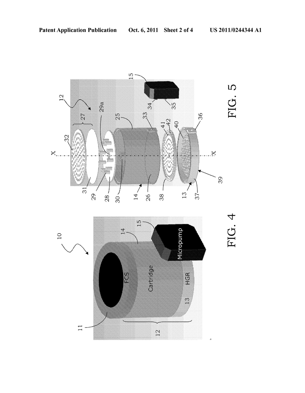 DEVICE FOR PRODUCING GASEOUS HYDROGEN, SYSTEM FOR PRODUCING ELECTRIC     POWER, AND CORRESPONDING METHOD FOR PRODUCING GASEOUS HYDROGEN - diagram, schematic, and image 03