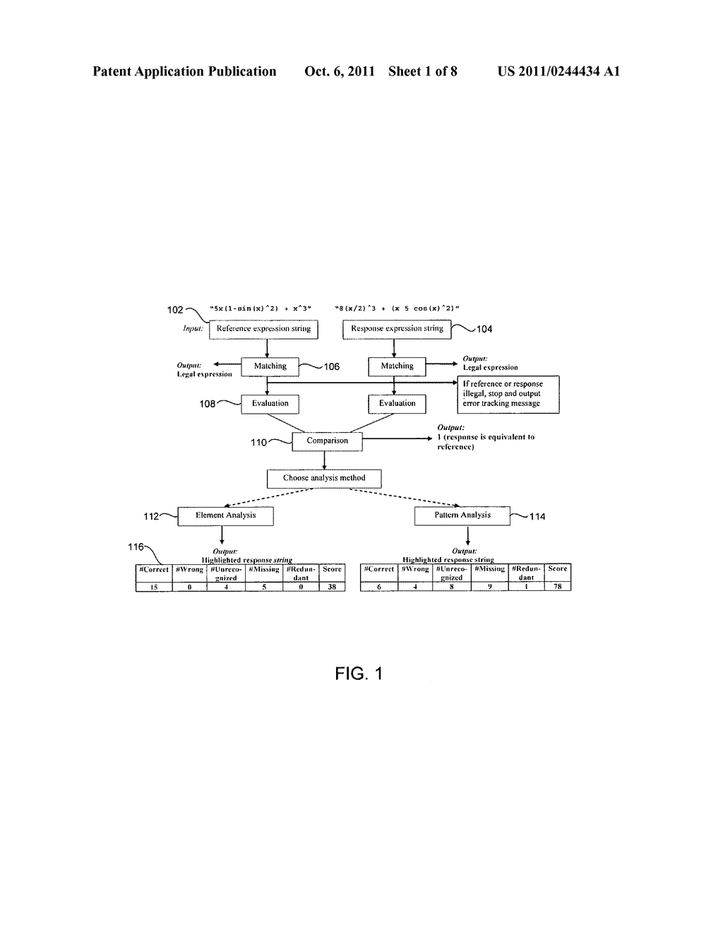 System and Method of Analyzing Freeform Mathematical Responses - diagram, schematic, and image 02