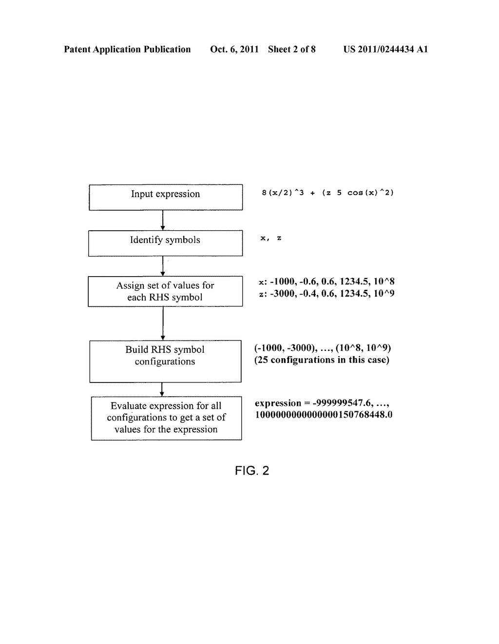 System and Method of Analyzing Freeform Mathematical Responses - diagram, schematic, and image 03