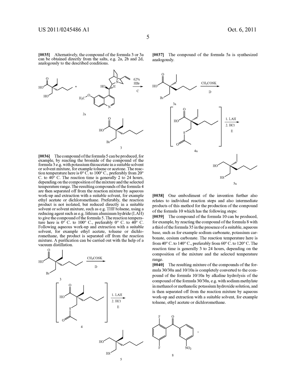 METHOD FOR THE PRODUCTION OF 1,4-BENZOTHIEPIN-1,1-DIOXIDE DERIVATIVES - diagram, schematic, and image 06