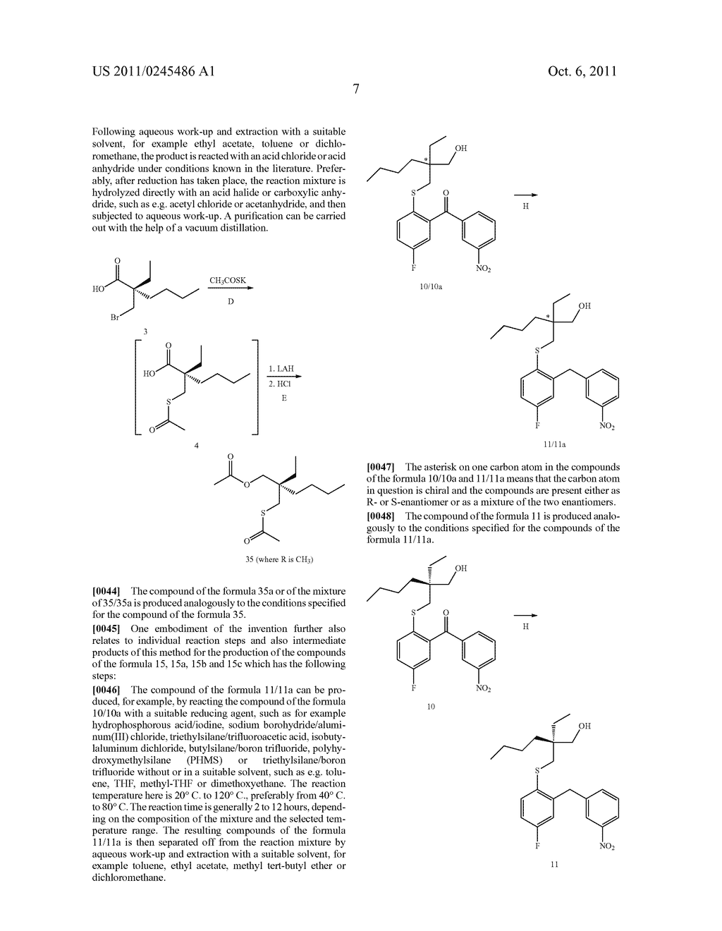 METHOD FOR THE PRODUCTION OF 1,4-BENZOTHIEPIN-1,1-DIOXIDE DERIVATIVES - diagram, schematic, and image 08
