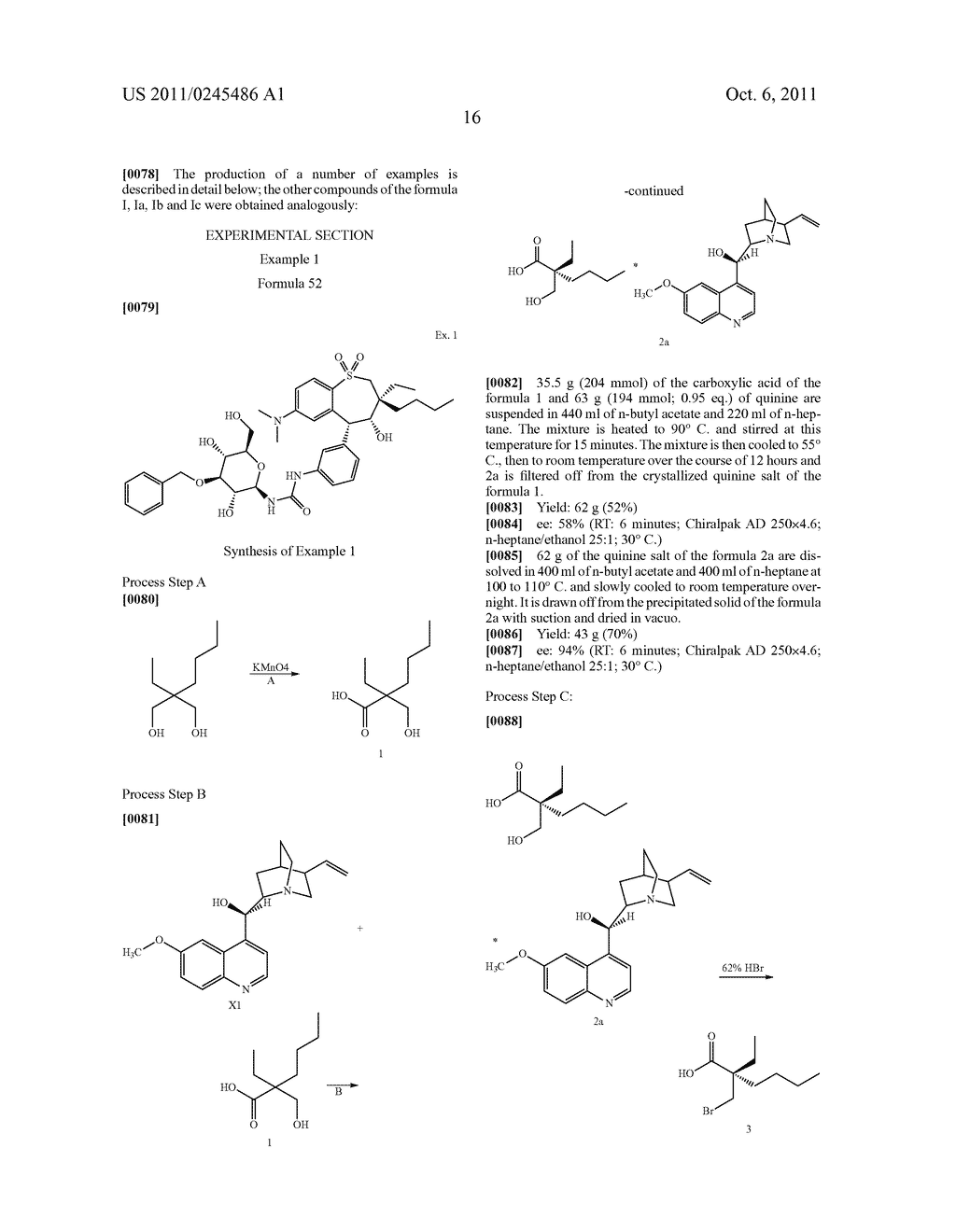 METHOD FOR THE PRODUCTION OF 1,4-BENZOTHIEPIN-1,1-DIOXIDE DERIVATIVES - diagram, schematic, and image 17