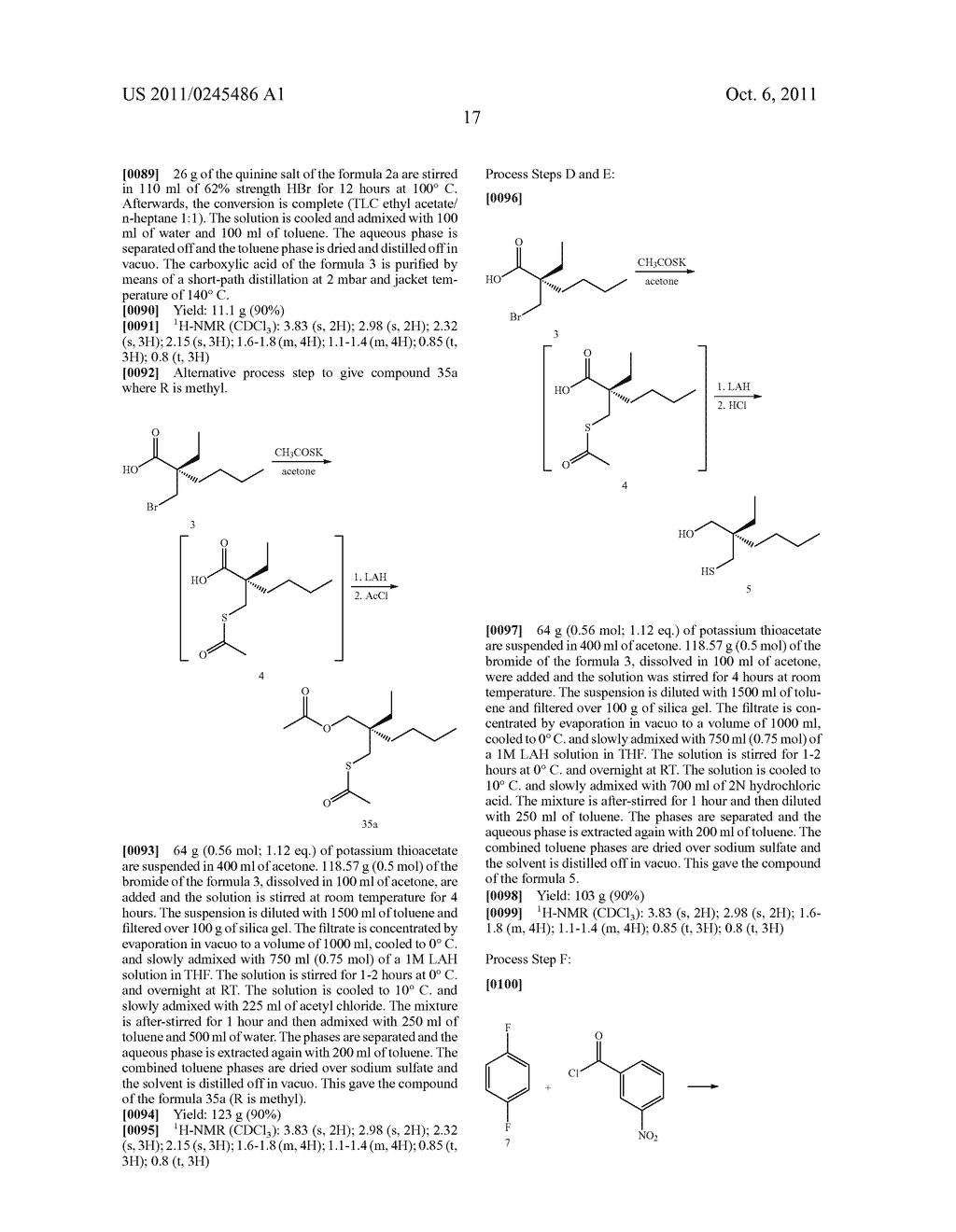 METHOD FOR THE PRODUCTION OF 1,4-BENZOTHIEPIN-1,1-DIOXIDE DERIVATIVES - diagram, schematic, and image 18