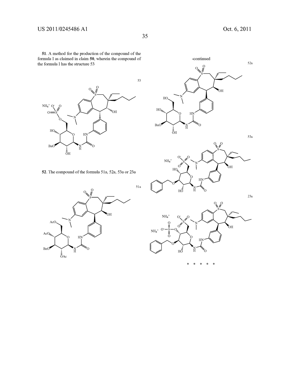 METHOD FOR THE PRODUCTION OF 1,4-BENZOTHIEPIN-1,1-DIOXIDE DERIVATIVES - diagram, schematic, and image 36