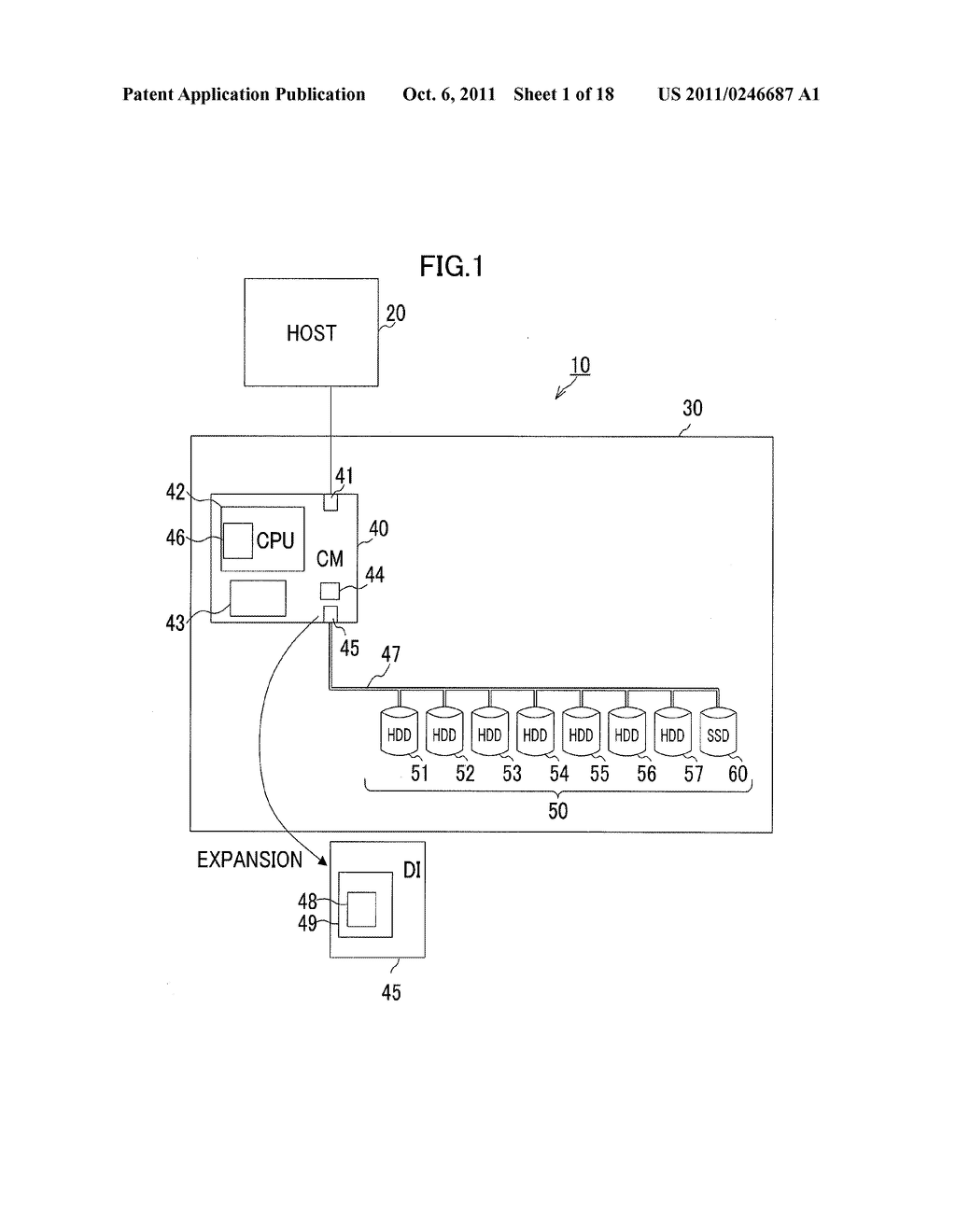 STORAGE CONTROL APPARATUS, STORAGE SYSTEM AND METHOD - diagram, schematic, and image 02