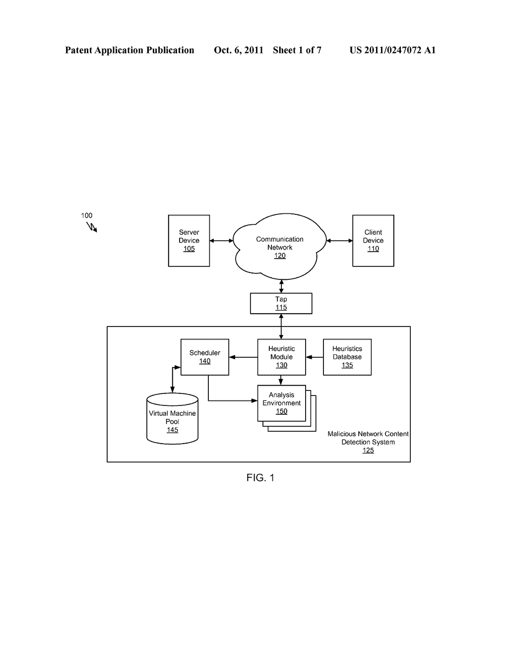 Systems and Methods for Detecting Malicious PDF Network Content - diagram, schematic, and image 02