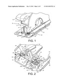 Bevel Adjustment for a Circular Saw diagram and image