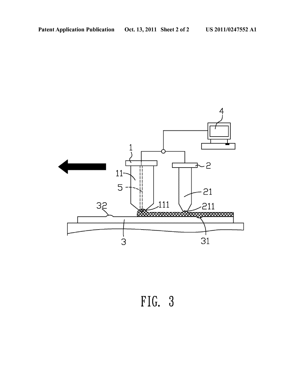 APPARATUS FOR COATING A FILM ON A SUBSTRATE - diagram, schematic, and image 03