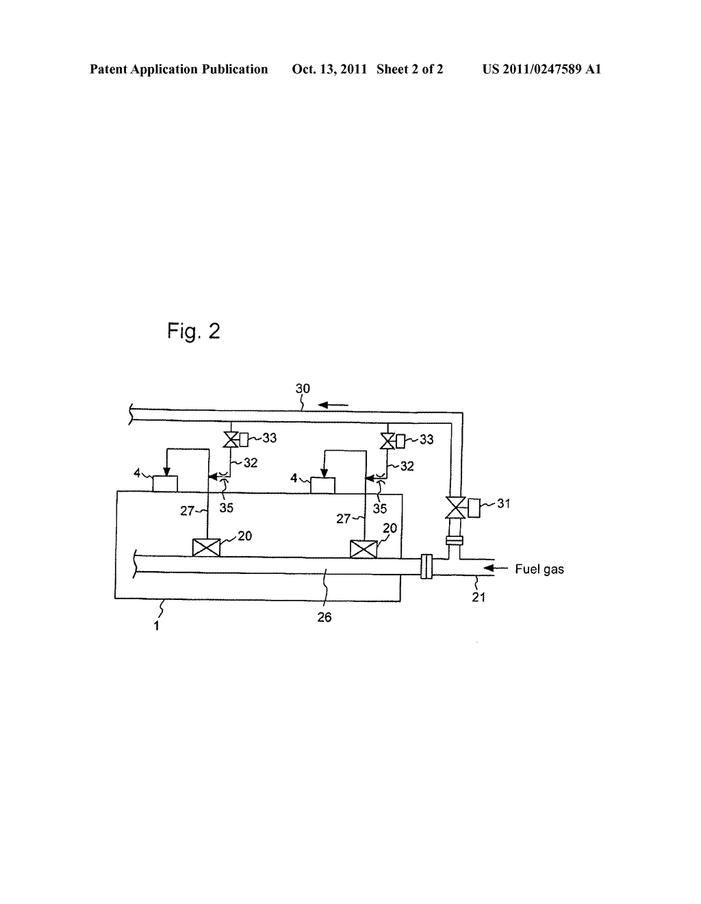 METHOD TO CONTROL A GAS ENGINE AND A GAS ENGINE SYSTEM THEREOF - diagram, schematic, and image 03