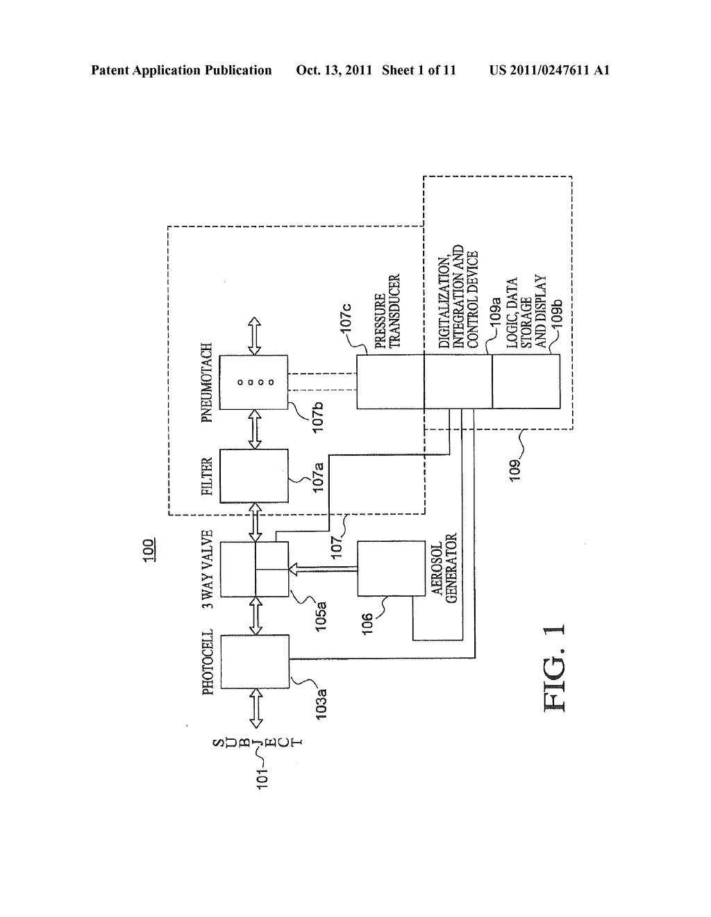 APPARATUS AND METHOD FOR DELIVERY OF AN AEROSOL - diagram, schematic, and image 02