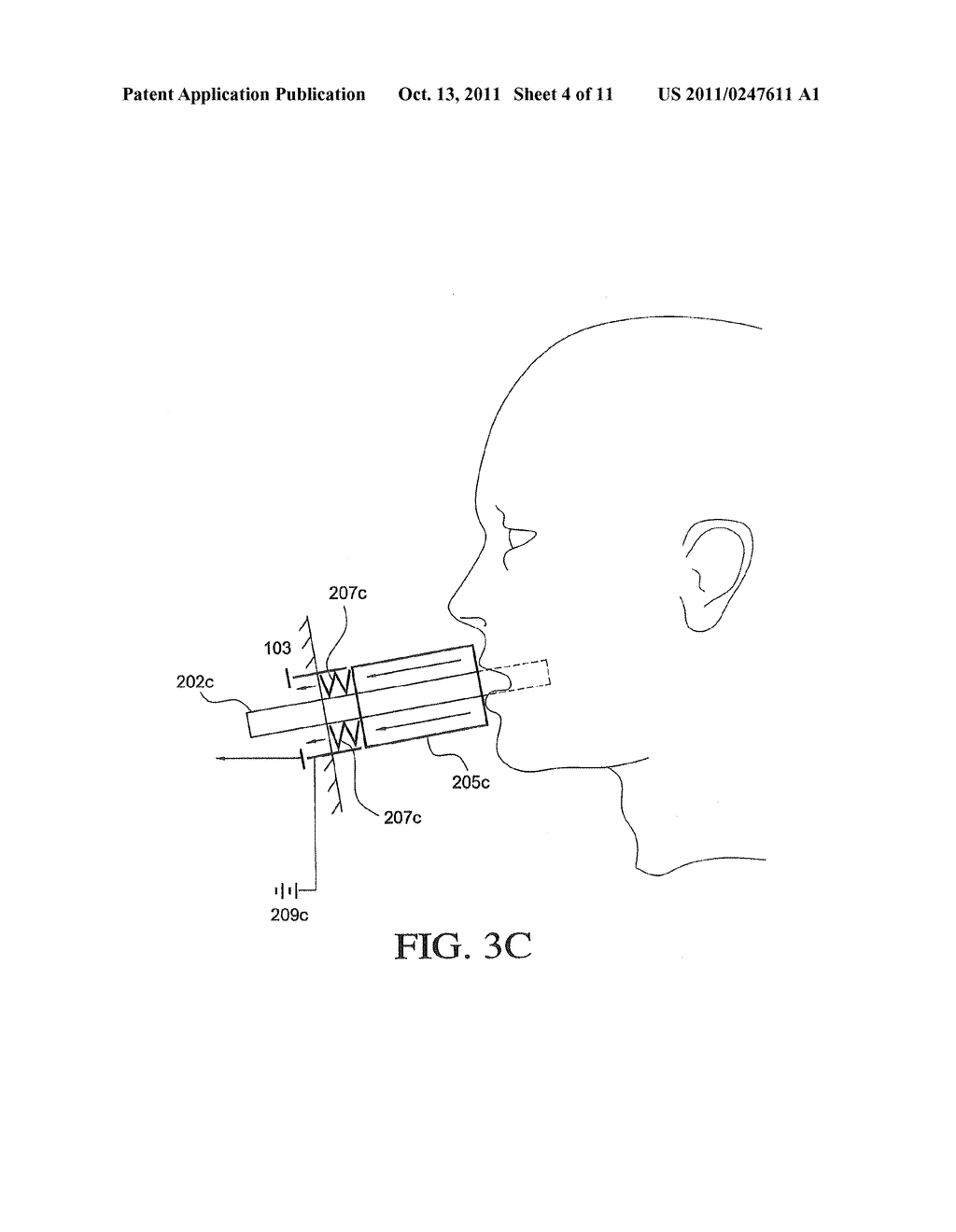 APPARATUS AND METHOD FOR DELIVERY OF AN AEROSOL - diagram, schematic, and image 05