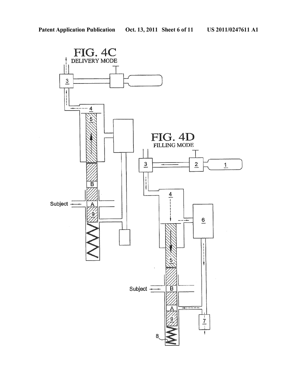APPARATUS AND METHOD FOR DELIVERY OF AN AEROSOL - diagram, schematic, and image 07