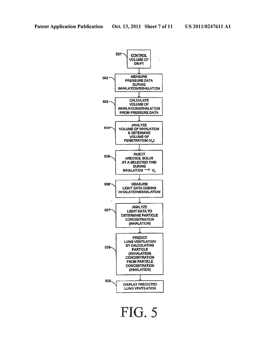 APPARATUS AND METHOD FOR DELIVERY OF AN AEROSOL - diagram, schematic, and image 08