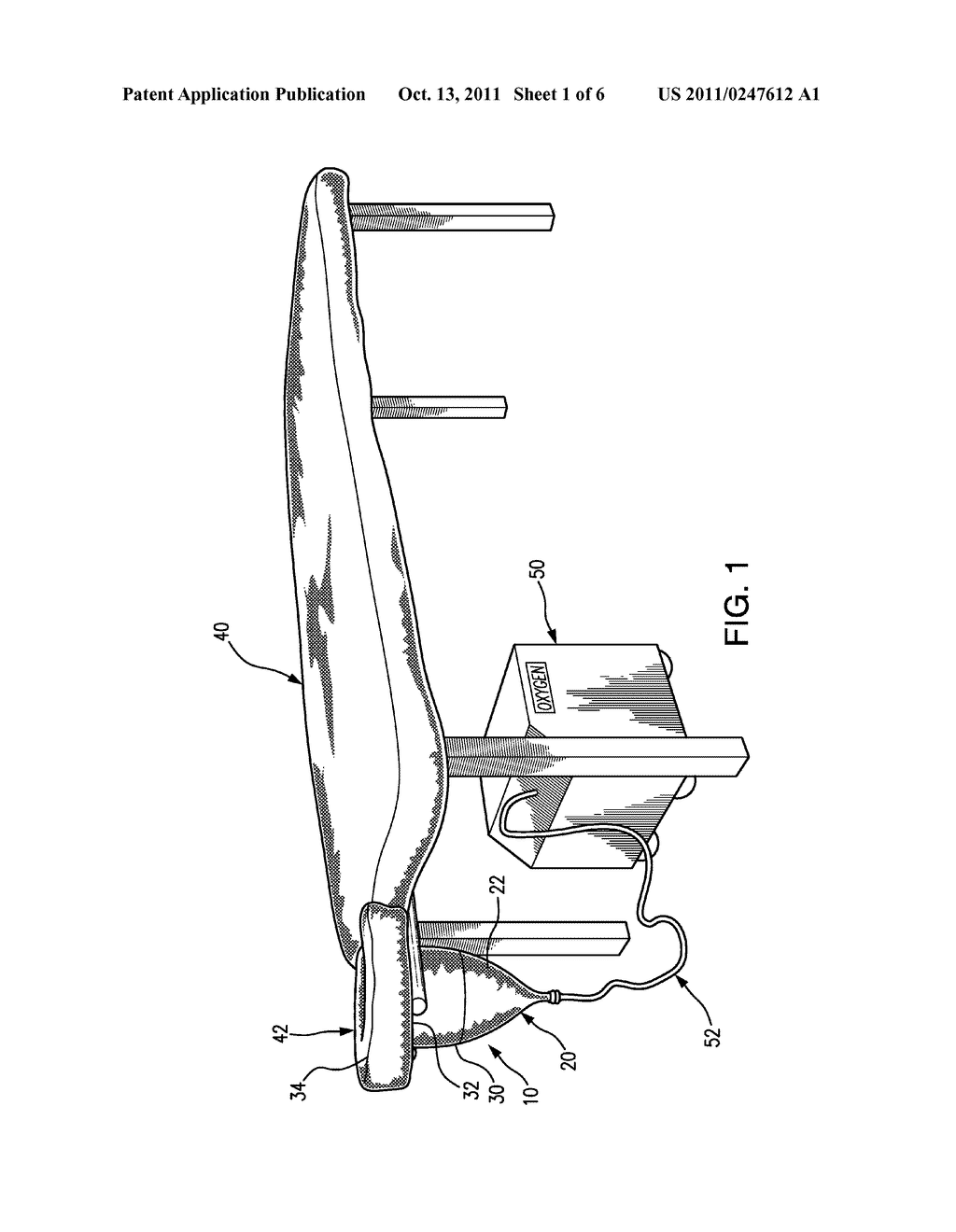 oxygen and aromatherapy delivery apparatus for a massage table