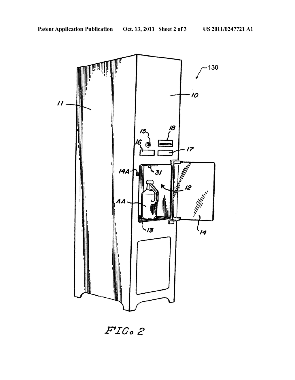 Method and Apparatus for Vending a Containerized Liquid Product Utilizing     an Automatic Self-Service Refill System - diagram, schematic, and image 03