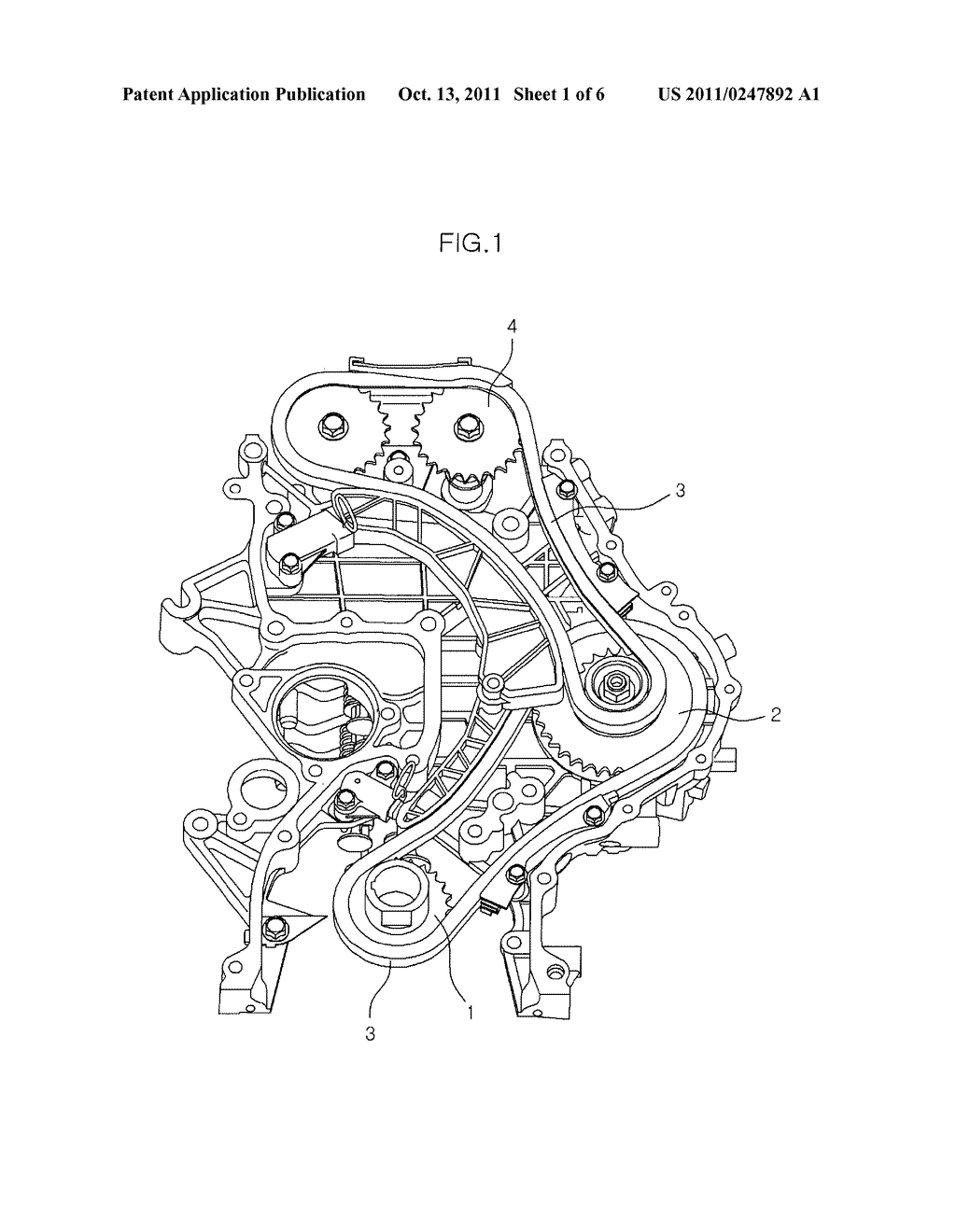 Noise Reducing Device For Timing Chain Of Diesel Engine Diagram Disel Schematic And Image 02