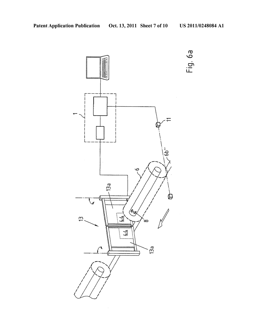 Apparatus and method for identification and/or marking of objects by means     of RFID - diagram, schematic, and image 08