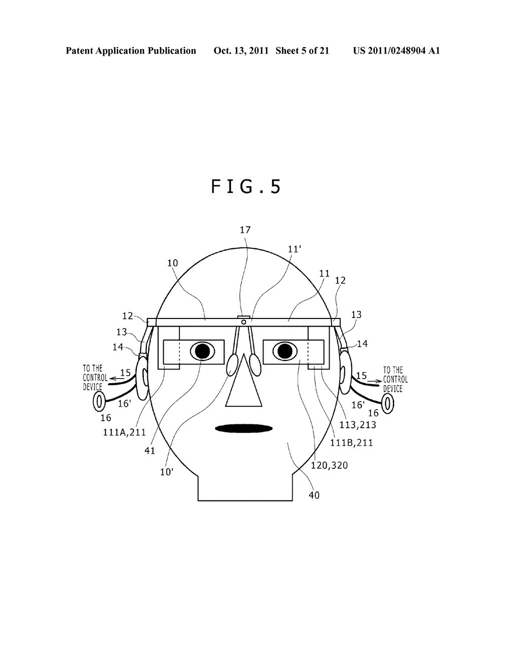 HEAD MOUNTED DISPLAY AND OPTICAL POSITION ADJUSTMENT METHOD OF THE SAME - diagram, schematic, and image 06