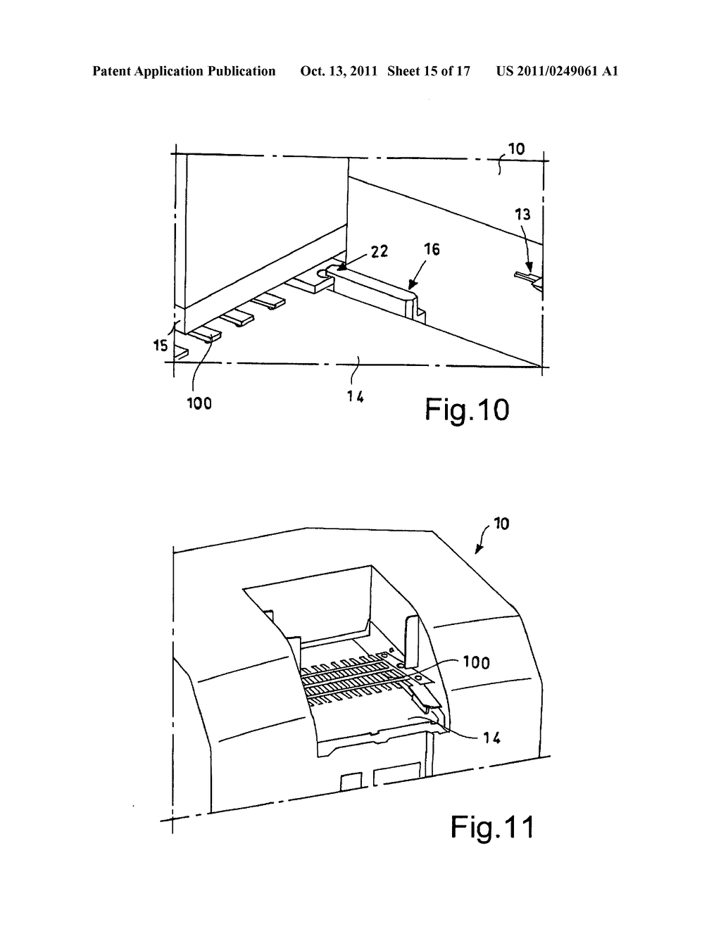Printer for groups of products supported on a table structure - diagram, schematic, and image 16