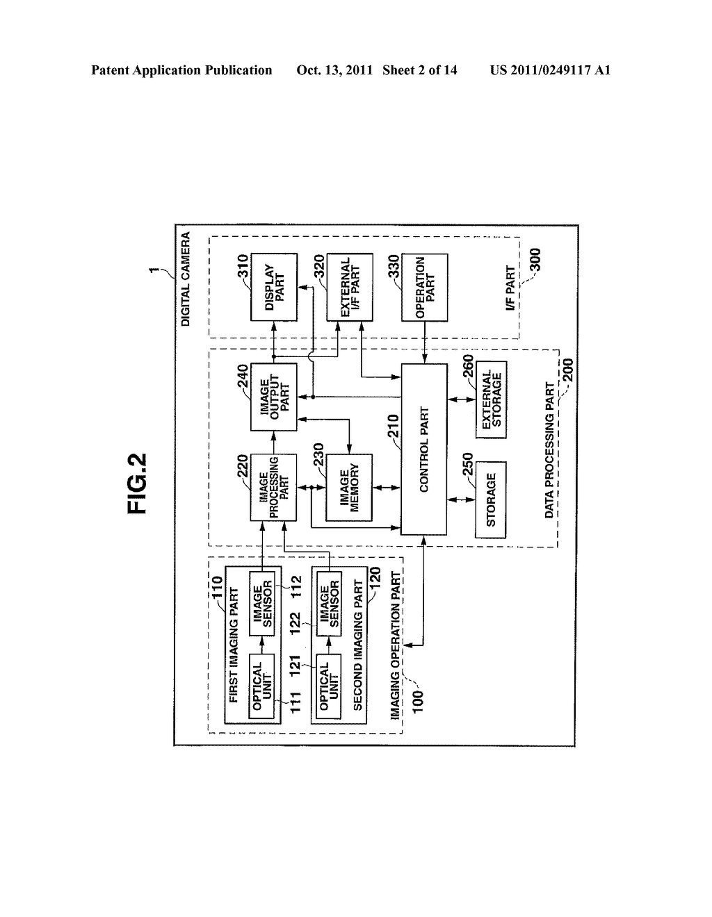 IMAGING DEVICE, DISTANCE MEASURING METHOD, AND NON-TRANSITORY     COMPUTER-READABLE RECORDING MEDIUM STORING A PROGRAM - diagram, schematic, and image 03