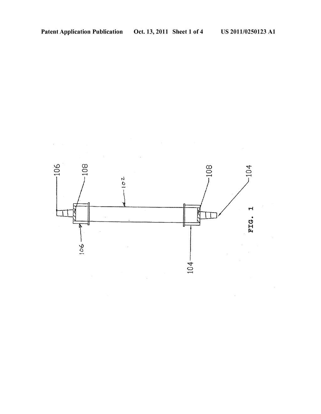 Methods and apparatus for producing the halogen dioxide, chlorine dioxide,     by ion exchange - diagram, schematic, and image 02