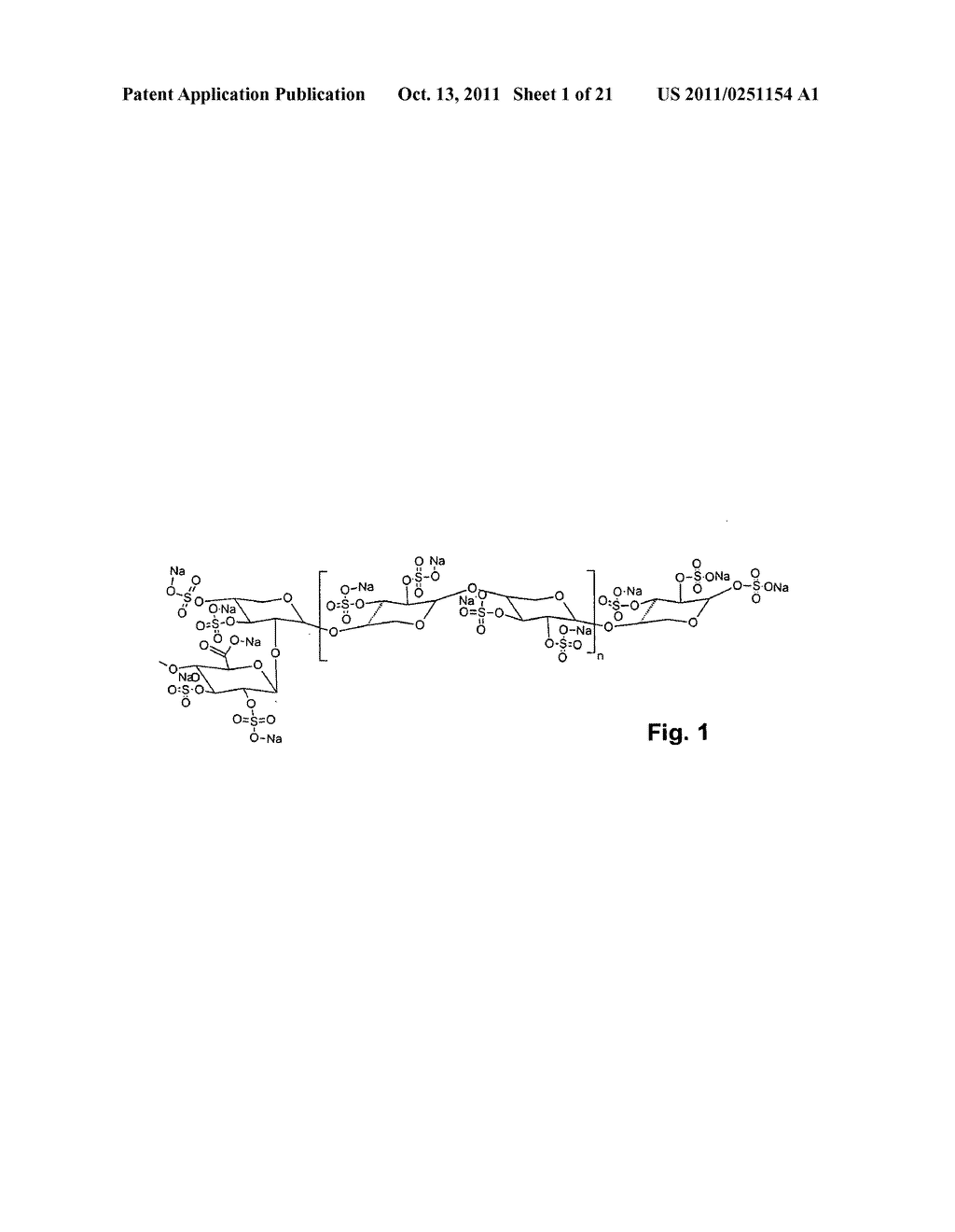 SULFATED POLYSACCHARIDE COMPOUND AND THE PREPARATION AND USE THEREOF - diagram, schematic, and image 02