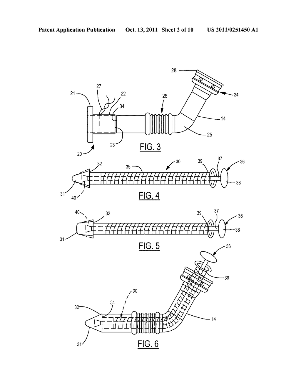 Method and Device for Attachment of an Inflow Conduit to the Heart and to     a Pump - diagram, schematic, and image 03