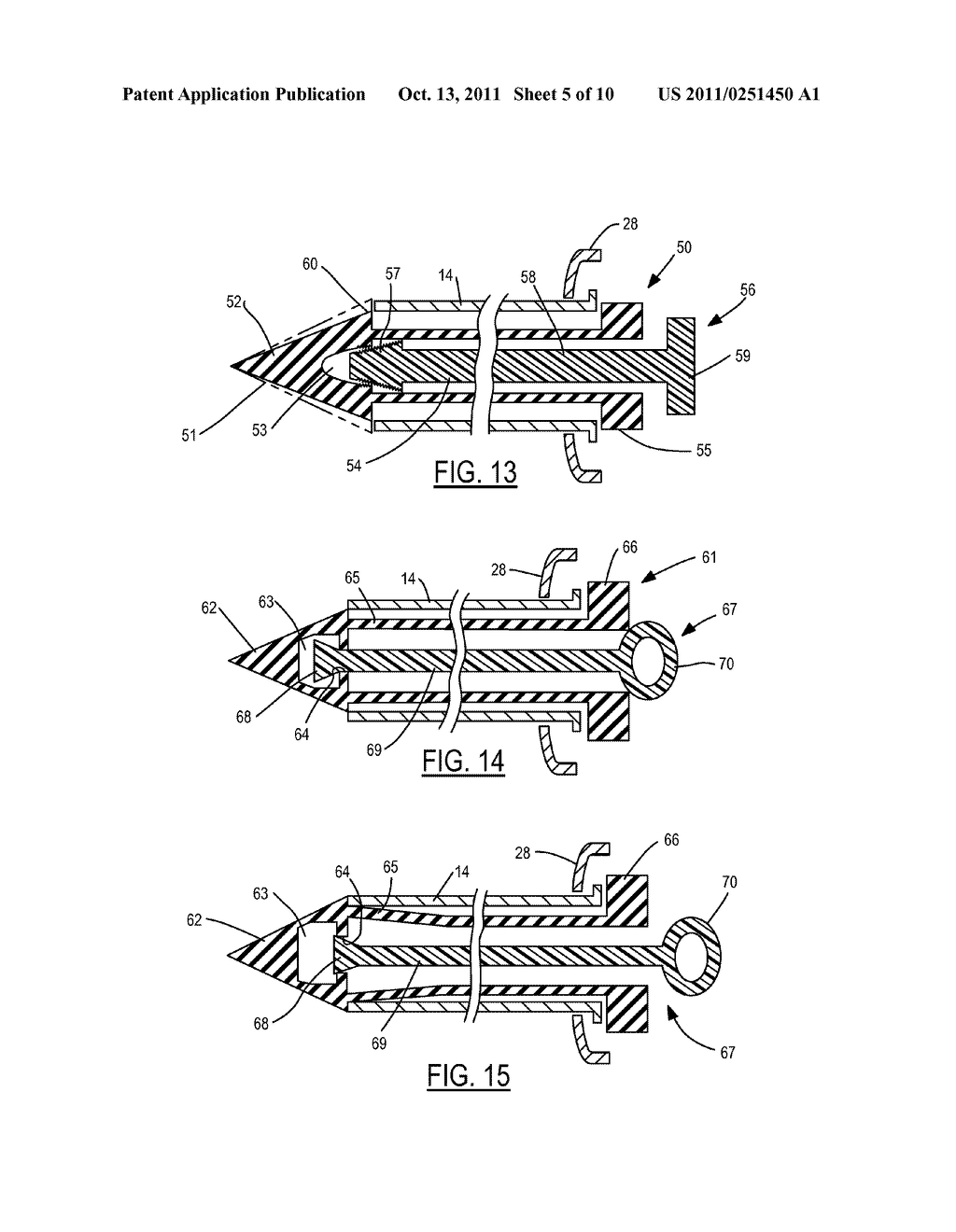 Method and Device for Attachment of an Inflow Conduit to the Heart and to     a Pump - diagram, schematic, and image 06