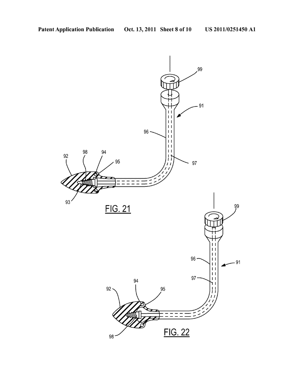 Method and Device for Attachment of an Inflow Conduit to the Heart and to     a Pump - diagram, schematic, and image 09