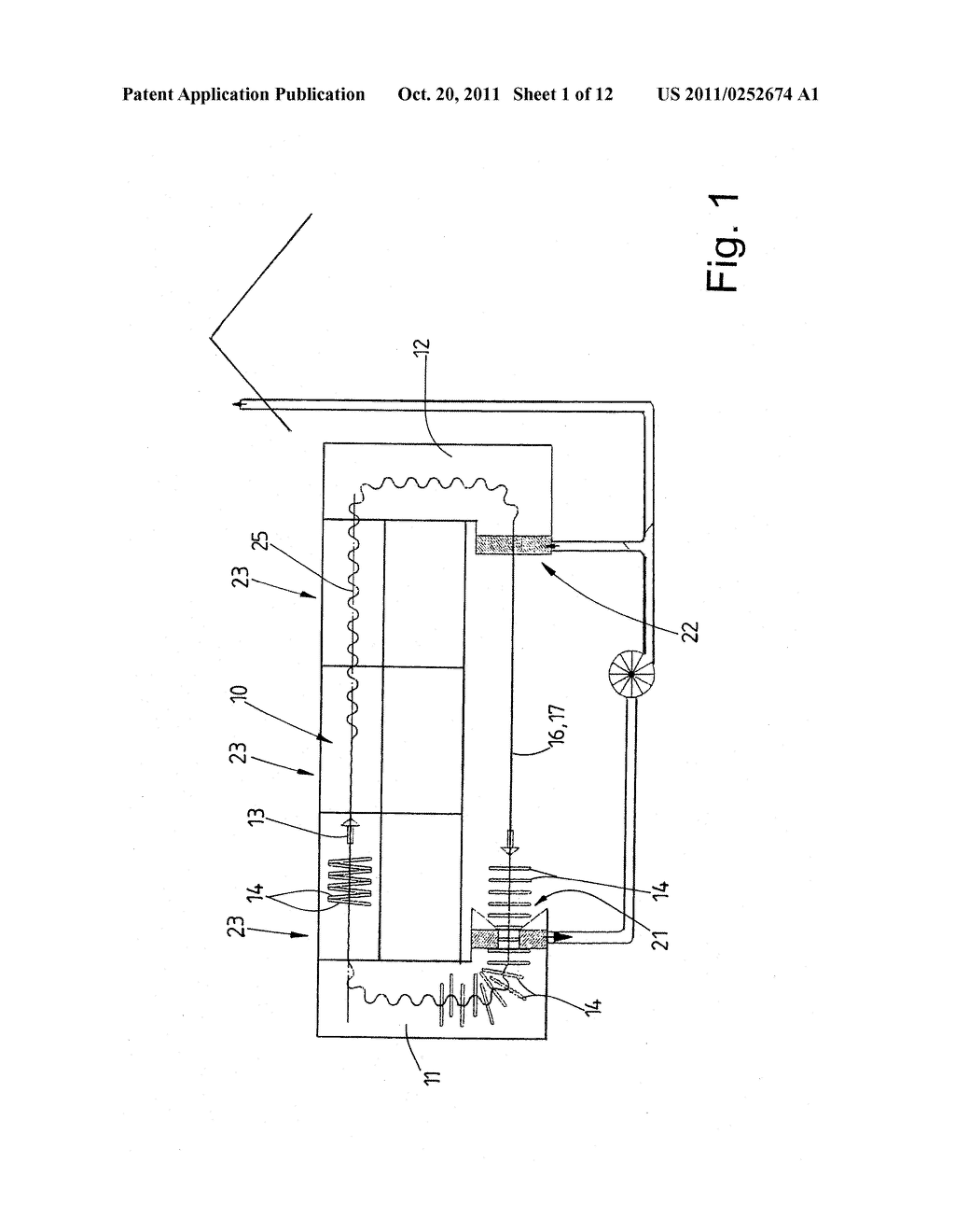 METHOD FOR SMOOTHING ARTICLES OF CLOTHING AND TUNNEL FINISHER - diagram, schematic, and image 02
