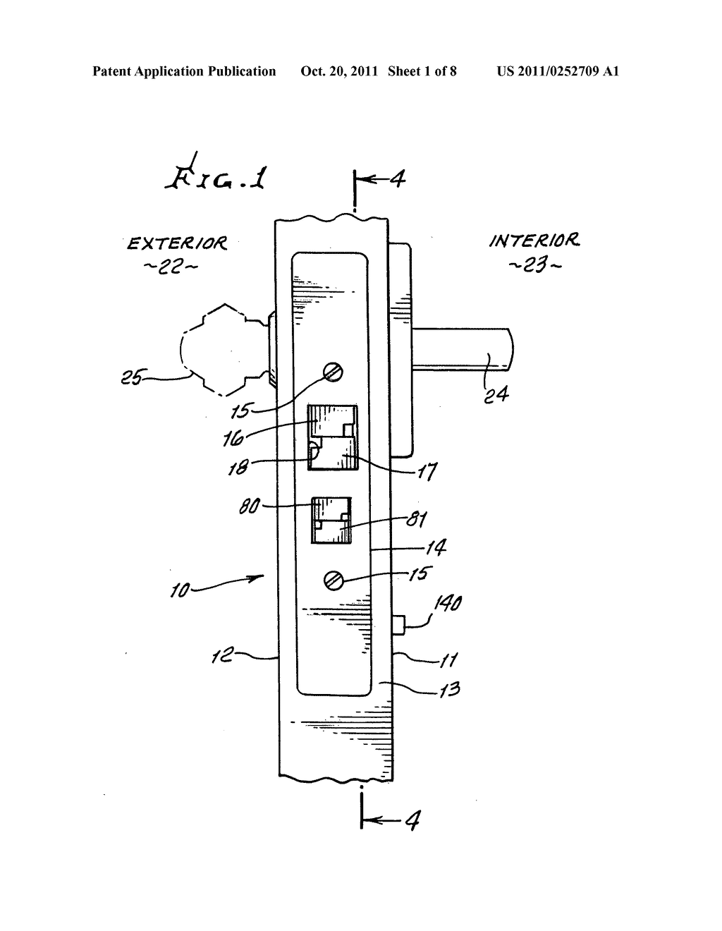 Multiple Access Door Lock Mechanism Diagram Schematic And Image 02