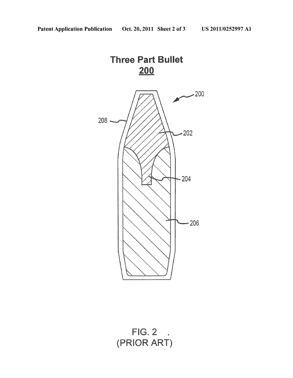 ARMOR-PENETRATING TWO-PART BULLET - diagram, schematic, and image 03