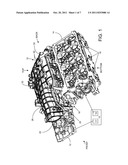 Intake Manifold with Overmolded Structural Enhancement diagram and image