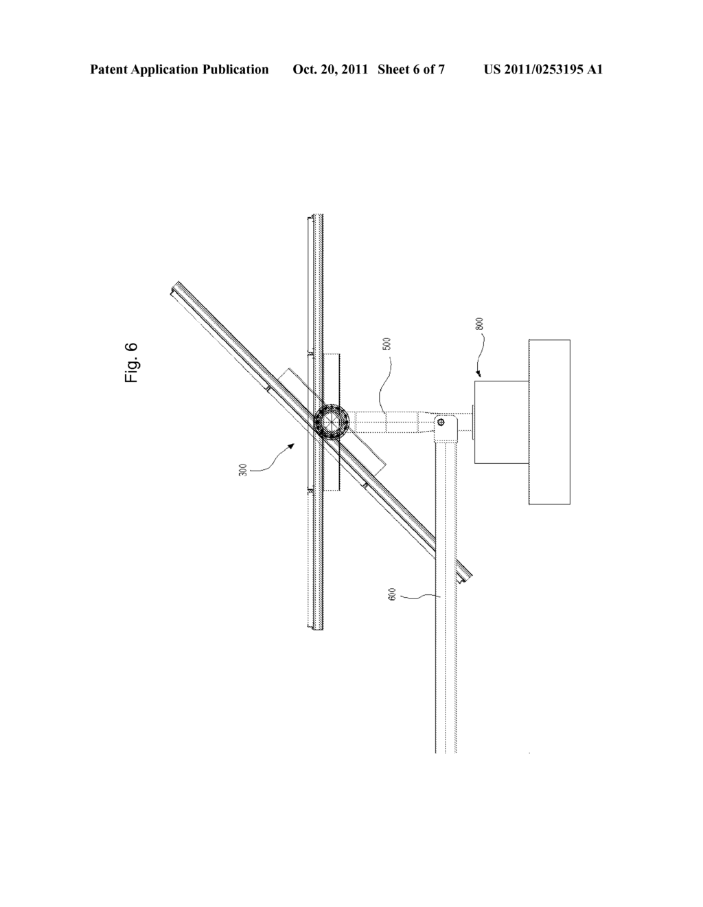 Torque Tube Supporter And Solar Tracker Using The Same Diagram Schematic Image 07