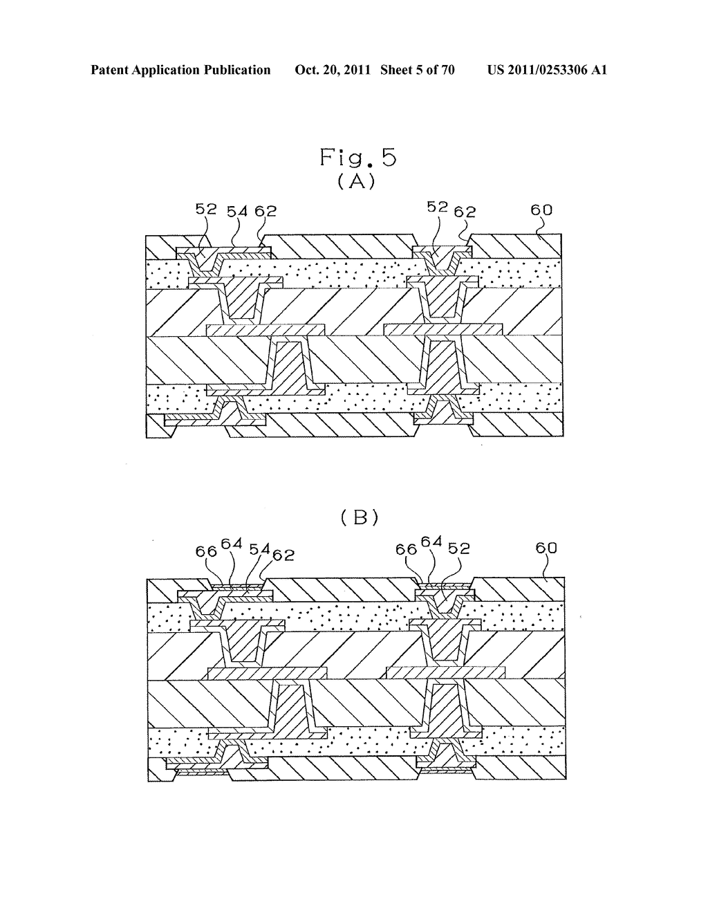 MULTI-LAYER PRINTED CIRCUIT BOARD AND METHOD OF MANUFACTURING MULTI-LAYER     PRINTED CIRCUIT BOARD - diagram, schematic, and image 06