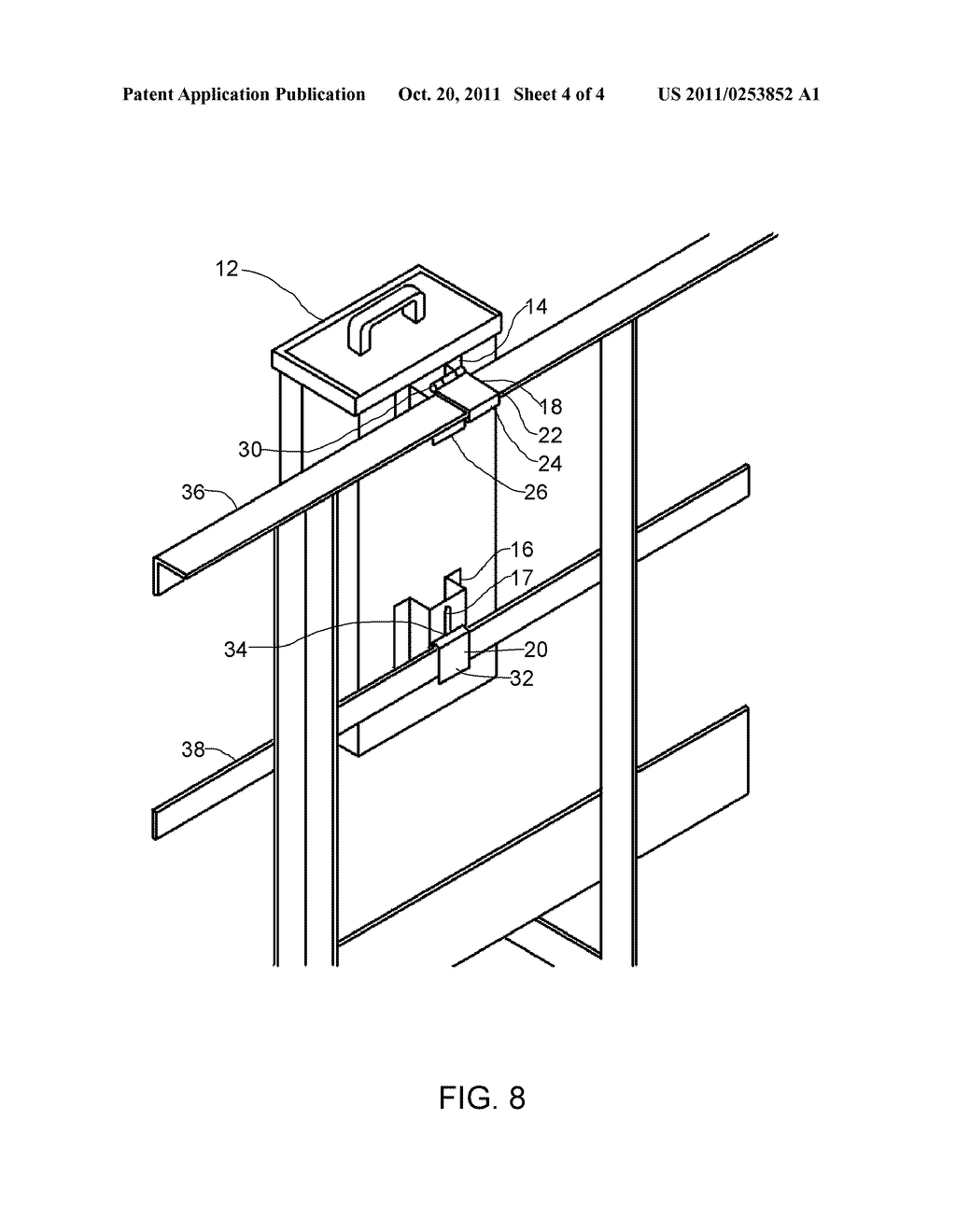 Hand Rail Mounting Bracket For An Electrical Panel Diagram Electric Schematic And Image 05