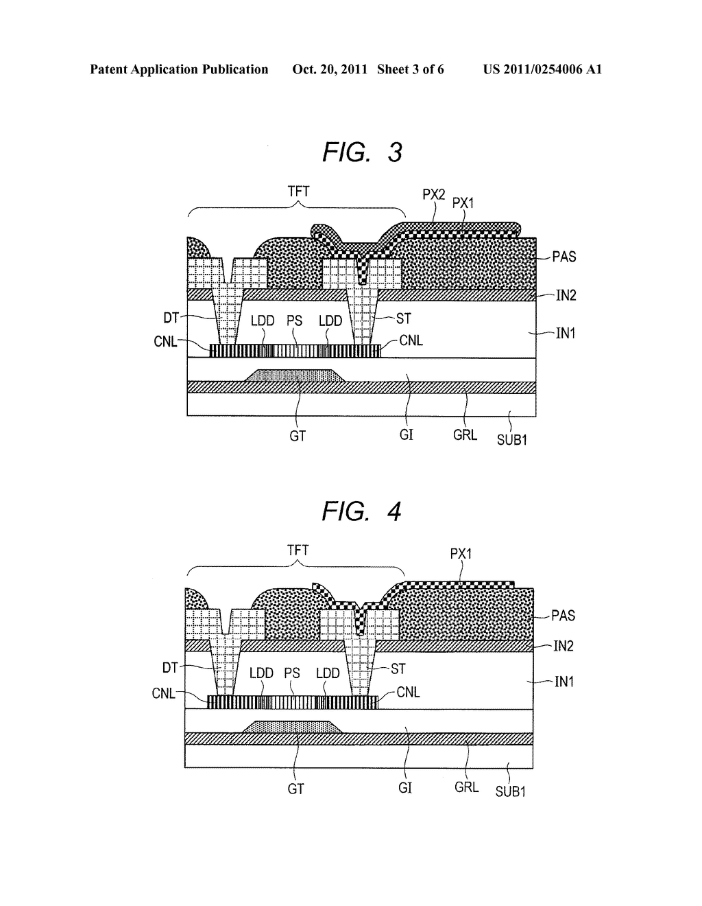 DISPLAY DEVICE AND MANUFACTURING METHOD THEREOF - diagram, schematic, and image 04