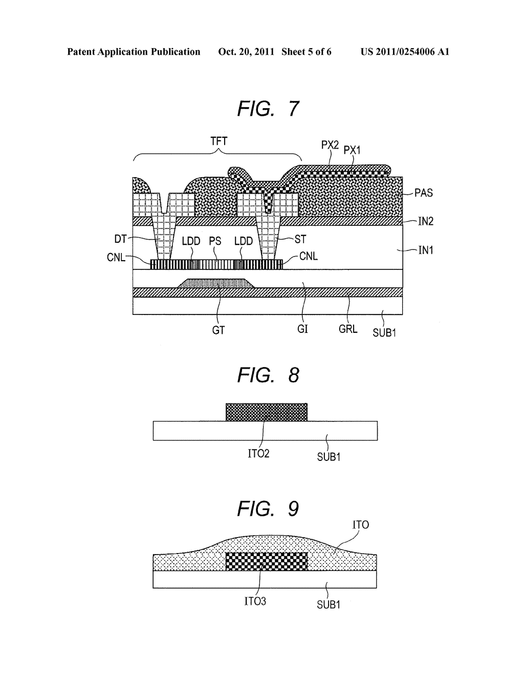 DISPLAY DEVICE AND MANUFACTURING METHOD THEREOF - diagram, schematic, and image 06